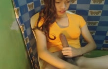 Asian Ladyboy On Webcam