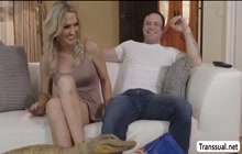 Hot Slutty TS Kayleigh Coxx loves getting anal by bigcock